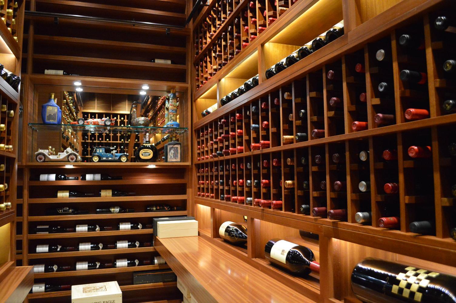 Miami Home Wine Cellar Project By Vintage Cellars - Home wine cellar design