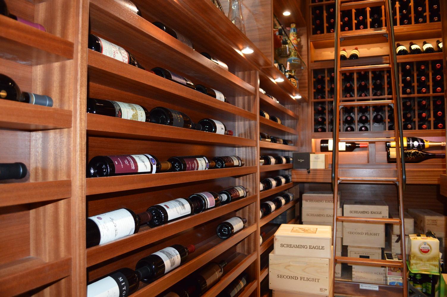 Wine Cellars Design Gallery - Home wine cellar design